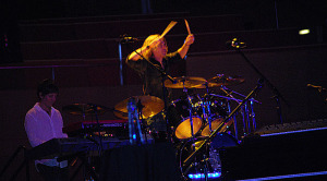 Tom Sharpe DennisDeYoung on Drumset