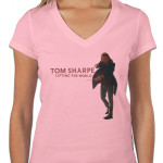ladies v-neck_pink tom sharpe