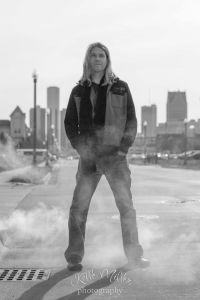Tom Sharpe and Detroit Skyline, 2014